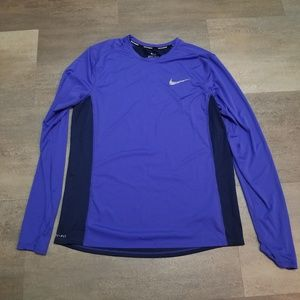 Nike Running Womens Long Sleeve Top Large